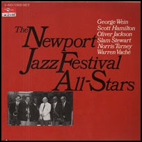 newport jazz festival All Stars.
