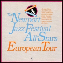 newport jazz festival European Tour.