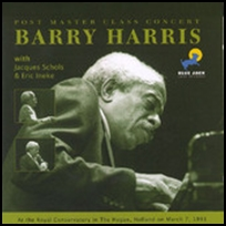 barry harris Post Master Class Concert