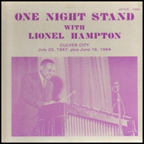 lionel hampton One Night Stand.
