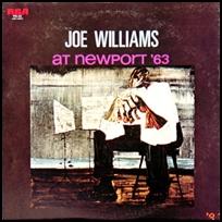 Joe Williams At Newport '63.